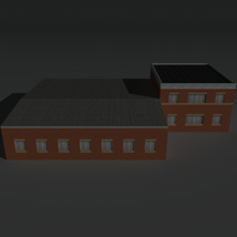 Low Poly Factory Building 23 - Extended Licence image 7