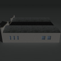 Low Poly Factory Building 24 - Extended Licence image 3