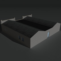 Low Poly Factory Building 24 - Extended Licence image 4