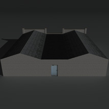 Low Poly Factory Building 24 - Extended Licence image 5
