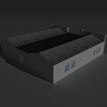 Low Poly Factory Building 24 - Extended Licence image 6