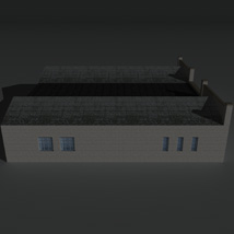 Low Poly Factory Building 24 - Extended Licence image 7