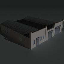 Low Poly Factory Building 24 - Extended Licence image 8