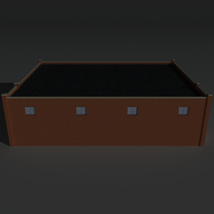 Low Poly Factory Building 25 - Extended Licence image 3