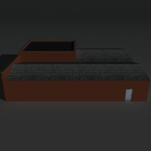 Low Poly Factory Building 26 - Extended Licence image 3
