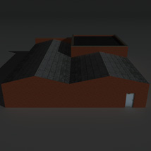 Low Poly Factory Building 26 - Extended Licence image 5