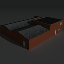 Low Poly Factory Building 26 - Extended Licence image 6