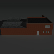 Low Poly Factory Building 26 - Extended Licence image 7