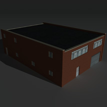 Low Poly Factory Building 27 - Extended Licence image 4