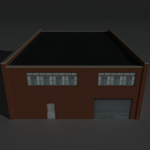 Low Poly Factory Building 27 - Extended Licence image 5