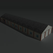 Low Poly Factory Building 29 - Extended Licence image 2