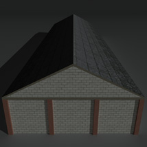 Low Poly Factory Building 29 - Extended Licence image 3