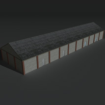 Low Poly Factory Building 29 - Extended Licence image 4