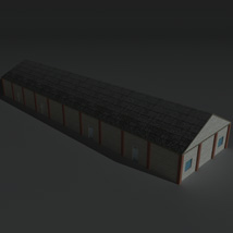 Low Poly Factory Building 29 - Extended Licence image 6