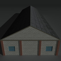 Low Poly Factory Building 29 - Extended Licence image 7