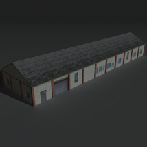 Low Poly Factory Building 29 - Extended Licence image 8