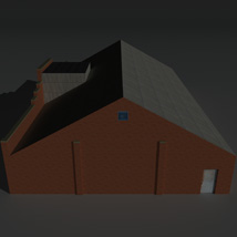 Low Poly Factory Building 30 - Extended Licence image 3