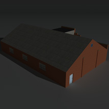 Low Poly Factory Building 30 - Extended Licence image 6
