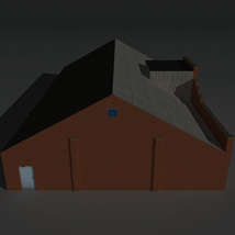 Low Poly Factory Building 30 - Extended Licence image 7