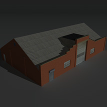 Low Poly Factory Building 30 - Extended Licence image 8