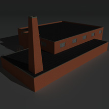 Low Poly Factory Building 34 - Extended Licence image 4
