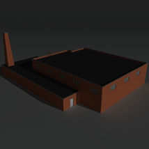 Low Poly Factory Building 34 - Extended Licence image 6