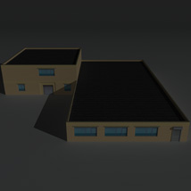 Low Poly Factory Building 36 - Extended Licence image 3