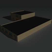 Low Poly Factory Building 36 - Extended Licence image 4