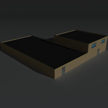 Low Poly Factory Building 36 - Extended Licence image 6