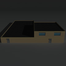 Low Poly Factory Building 36 - Extended Licence image 7