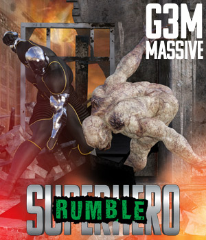 SuperHero Rumble for G3M Volume 1 3D Figure Assets GriffinFX