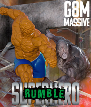 SuperHero Rumble for G8M Volume 1