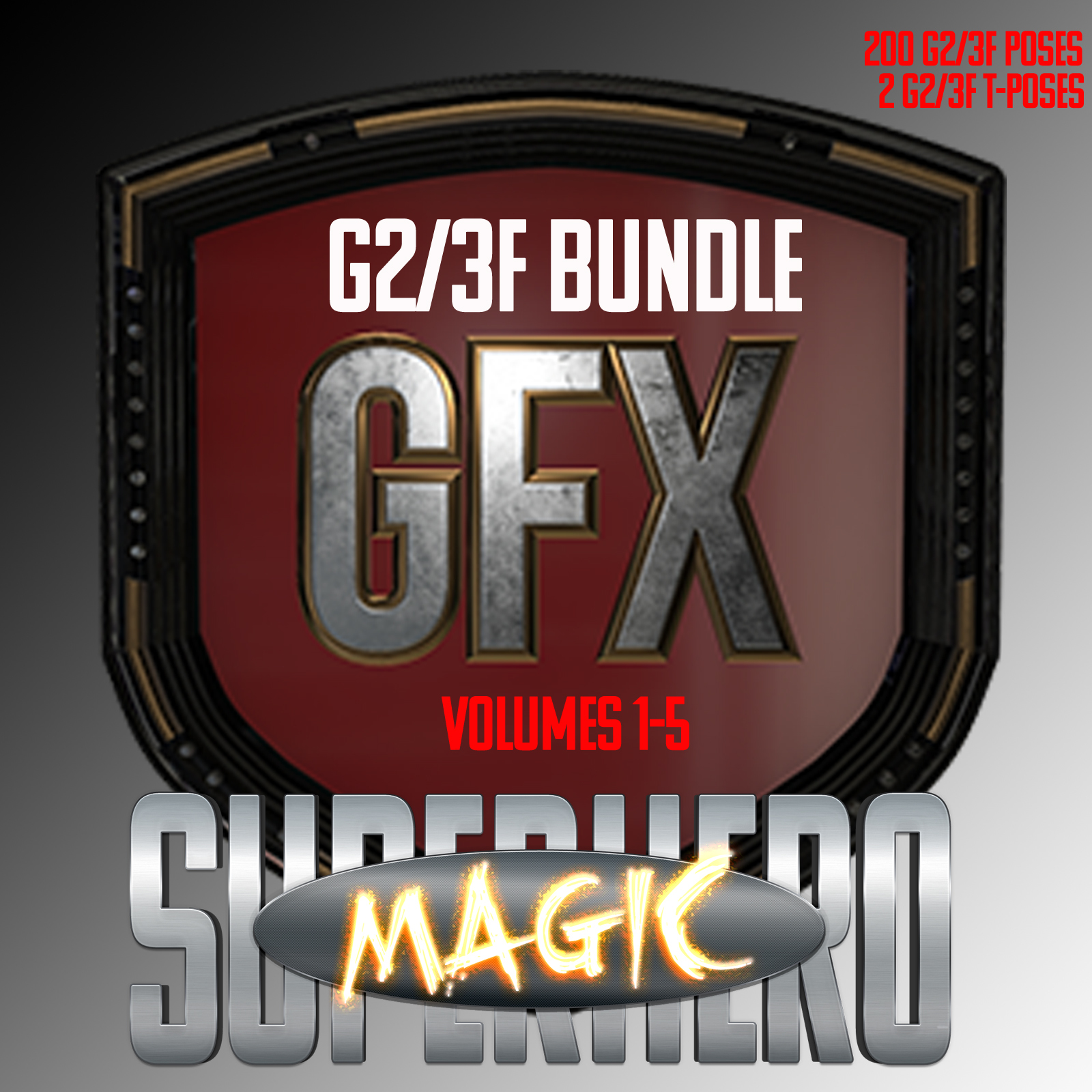 SuperHero Magic Bundle for G2F and G3F
