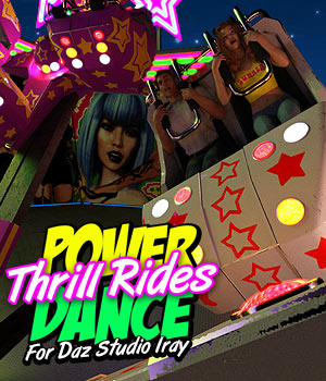 POWERDANCE Thrill Rides for DS Iray 3D Models powerage