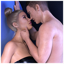 Z Passions - Couple Poses for Genesis 3 and 8 image 1