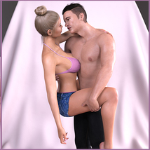 Z Passions - Couple Poses for Genesis 3 and 8 image 6