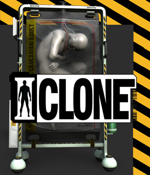 I Clone for Poser and DS 3D Models coflek-gnorg