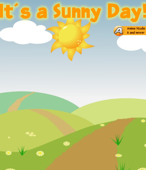 It's a Sunny Day 2D Graphics Animation_Designs