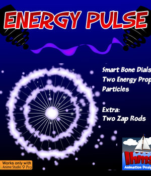Energy Pulse 2D Graphics Animation_Designs