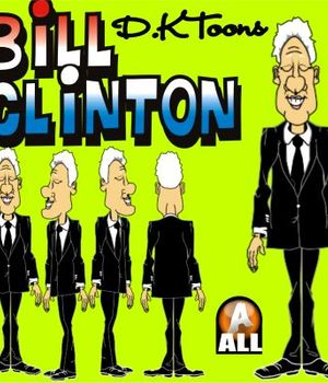 BILL CLINTON Legacy Discounted Content DKToons