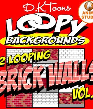 LOOPY BRICK WALLS Legacy Discounted Content DKToons