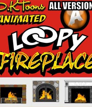 LOOPY FIREPLACE Legacy Discounted Content DKToons