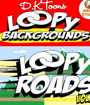 LOOPY ROADS Legacy Discounted Content DKToons