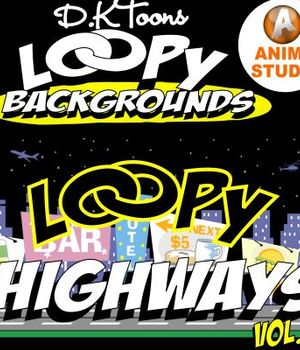 LOOPY HIGHWAYS Legacy Discounted Content DKToons