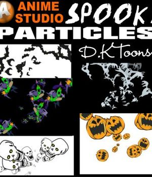 SPOOKY PARTICLES Legacy Discounted Content DKToons