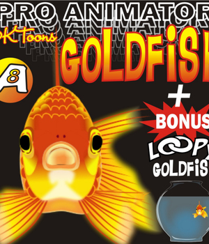 GOLDFISH + LOOPY GOLDFISH Legacy Discounted Content DKToons