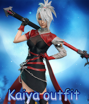 Kaiya outfit for g3f g8f 3D Figure Assets RPublishing