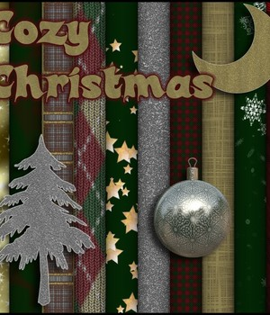 MR: Cozy Christmas 2D Graphics Merchant Resources MargyThunderstorm
