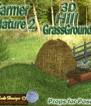 Farmer Nature 2, 3D Grass Hill Legacy Discounted Content Rodi_Design