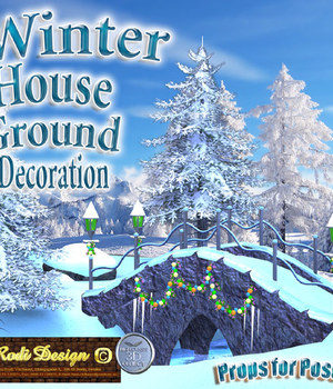 Winter House 2 Ground Decoration Legacy Discounted Content Rodi_Design